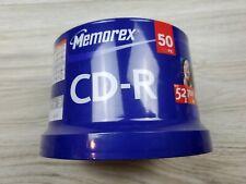 Memorex Cd-R 50 Pack BRAND NEW FACTORY SEALED 52 X 700 MB 80 MIN