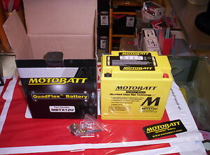 Batterie Motobatt AGM Hermétique MBTX12U Malaguti Madison Phantom Spidermax