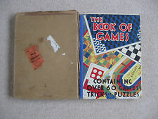 Vintage THe Book Of Games Including The 'Grand National Racing Game.'