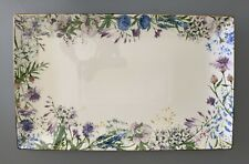 Williams Sonoma Floral Meadow Wreath Platter