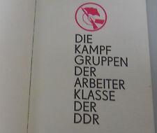 Die Kampfgruppen der Arbeiter Klasse der DDR / Militärtechnik/Paramilitärisch**