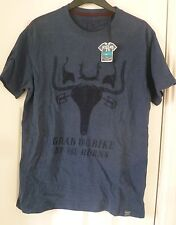 BNWT JOULES Grab the Bike by the Horns - Cycling / Bull T-shirt Top - Size Small