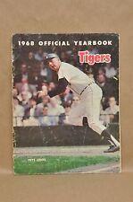 Vtg 1968 Detroit Tigers Year Book Kaline Freehan Price McLain Aguirre Cash