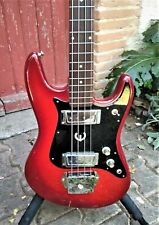 Epiphone ET-280 Cherry Burst 1972 short scale vintage bass