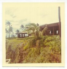Square Vintage 60s PHOTO Sheraton Maui Dining Room from Terrace Hawaii Hotel