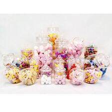 19 tarros de estilo vintage y retro plástico Candy Buffet Sweet Shop Kit De Fiesta Boda Niños