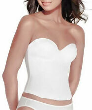 Valmont Longline Seamless Strapless Bra with Molded Cups Style 7642