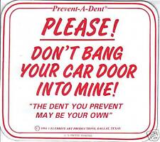 Prevent-A-Dent Car Magnet