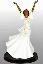 Praise Dancer Figurine: Joie,  African American NEW (17710) 12 Inches