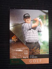 Mark O'Meara 2003 SP Authentic Salute to Champions Card #95 Serial #/1998