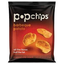 POPCHIPS Potato Chips BBQ Flavor .8 oz Bag 24/Carton 72200