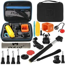 18 in 1 Surfing Accessories Combo Kit + Case For GoPro HERO5 Session /4 Session