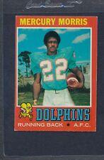 1971 Topps #091 Mercury Morris Dolphins EX *305