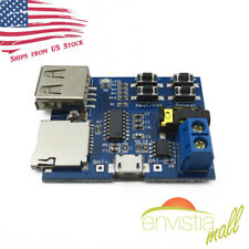 MP3 USB Flash Drive Micro SD TF Card Player Decoding Amplifier Board Module USA