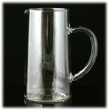 Classic Elegant Crystal Clear Glass 1 Qt Martini Juice Iced Tea Beverage Pitcher