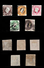 1862 Portugal D. Luis I #14/18 COMPLETE USED SET. Good Space Fillers.