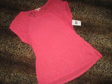 NEW PLEIONE CORAL LACE TUNIC STRETCHY SEXY FABULOUS!! S/M