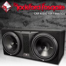 Rockford Fosgate Punch P3 P3-2X12 Dual Gehäusesubwoofer 2x 30cm Bass Subwoofer
