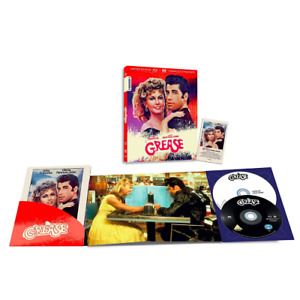 GREASE - Limited 1000 Copie Numerate (Blu-ray+Dvd+Booklet+Magnete)