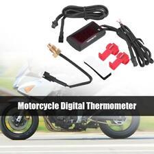 Universal Moto Digital LED Termómetro Agua Temperatura Medidor para Honda Yamaha