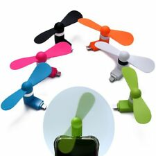 Portable Mini Fan Android Phone Notebook Laptop PC Super Mute USB Cooler Cooling