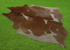 """New Cowhide Rugs Area Cow Skin Leather 27.96 sq.feet (66""""x61"""") Cow hide 541"""