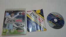 JUEGO PES 2013 PRO EVOLUTION SOCCER SONY PLAYSTATION 3 PS3 ESPAÑA. BUEN ESTADO.