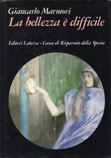 1984 – MARMORI, LA BELLEZZA È DIFFICILE – ARTE PITTURA ART NOUVEAU LIBERTY