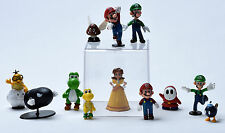Nintendo Super Mario Bros Game Lovely Toys Doll PVC Action Figures 12 pcs USA
