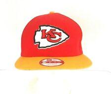 Kansas City Chiefs NFL Snap Back Baseball Cap New Era 9 Fifty