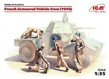 ICM 35615 French Armoured Vehicle Crew (1940) Figuren in 1:35