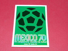 19 AFFICHE MEXICO 1970 PANINI WORLD CUP STORY 1990 SONRIC'S