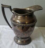 Vintage Silver Plate Pitcher or Jug