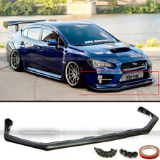 For 15-19 Subaru Wrx Sti V-Limited Style Front Bumper Lip Chin Spoiler (Fits: Subaru)