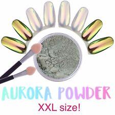 10 ML GRANDE VASO AURORA polvere Unicorno Arcobaleno Pigmento per centro estetico Regno Unito (Opal 1)