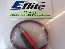 E-FLIGHT EFLA233 CHARGER LEAD W/MINI TAMIYA FEMALE