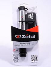 Zefal Air Profil FC02 Telescopic Aluminium Mini Road Pump,116 PSI,105g