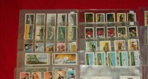TEA & TRADE CARDS COMPLETE FULL SETS  IN PLASTIC SLEEVES - SELECT SET