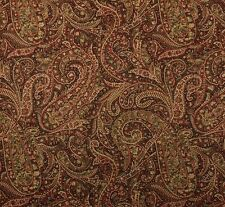 """COVINGTON MANCHESTER CLASSIC D4165 FLORAL PAISLEY MULTIUSE FABRIC BY YARD 54""""W"""