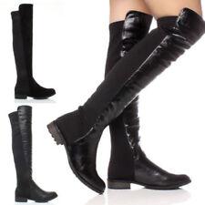 Scarpe da donna blocchetti elasticizzato con tacco basso (1,3-3,8 cm)