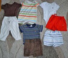 *Lot of 8* Boys 3-6M BabyGap Terry Cloth Shorts Bodysuits Romper Summer Lot