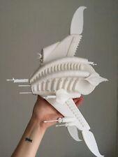 3D printed model of Sharlin Minbari warship from Babylon 5