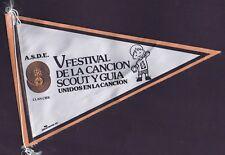 A.S.D.E Pennant Vfestival De La Cancion Scout Y Guia Unidos En La Cancion 802401