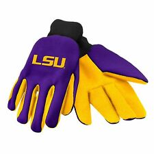 LSU Tigers Gloves Sports Logo Utility Work Garden NEW Colored Palm
