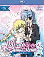 HAYATE THE COMBAT BUTLER SEASON 1 - BLU RAY - Region A - Sealed