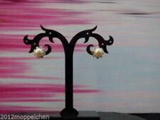 Versilberter Mode-Ohrschmuck mit Kristall Butterfly-Verschluss