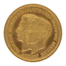 Goldmünze 20 Francs Charlotte Jean Grande duche de Luxembourg 1953