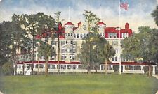 Deland Florida~Hotel College Arms~18-Hole Golf Course w/Grass Greens c1910