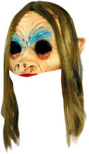 WITCH OPEN HALF HEAD MASK SCARY LATEX HALLOWEEN MASK