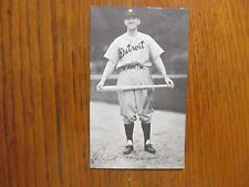 DICK   BARTELL  (Died  in  1994)Detroit  Tigers   Signed  3 x 5   B & W   Photo